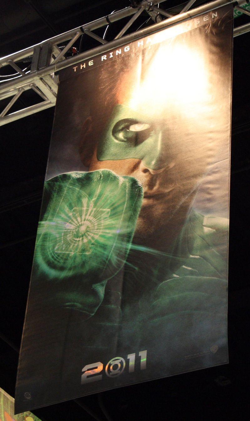 <strong><em>Green Lantern</em></strong> teaser poster #1