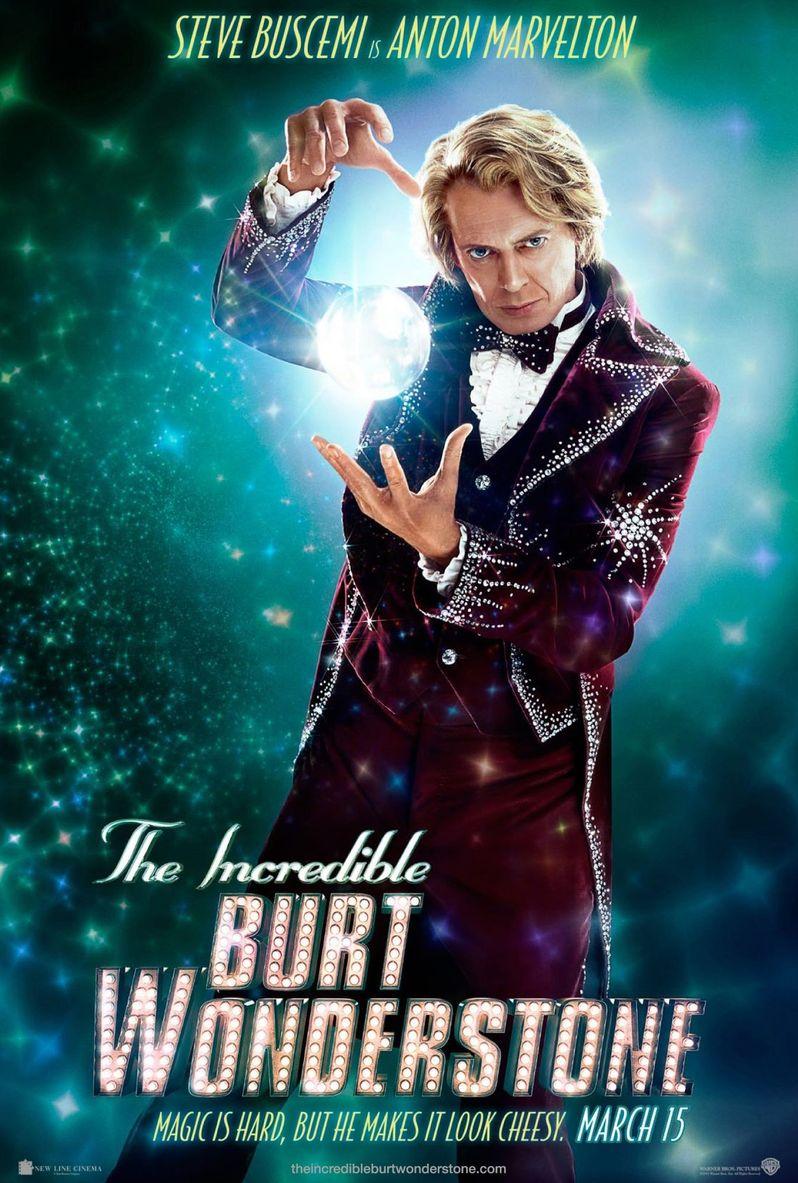<strong><em>The Incredible Burt Wonderstone</em></strong> Steve Buscemi Character Poster