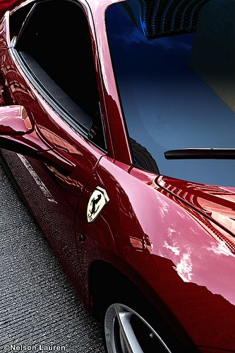 Ferrari 458 Italia (Parked on Rush St) on the set of Transformers 3