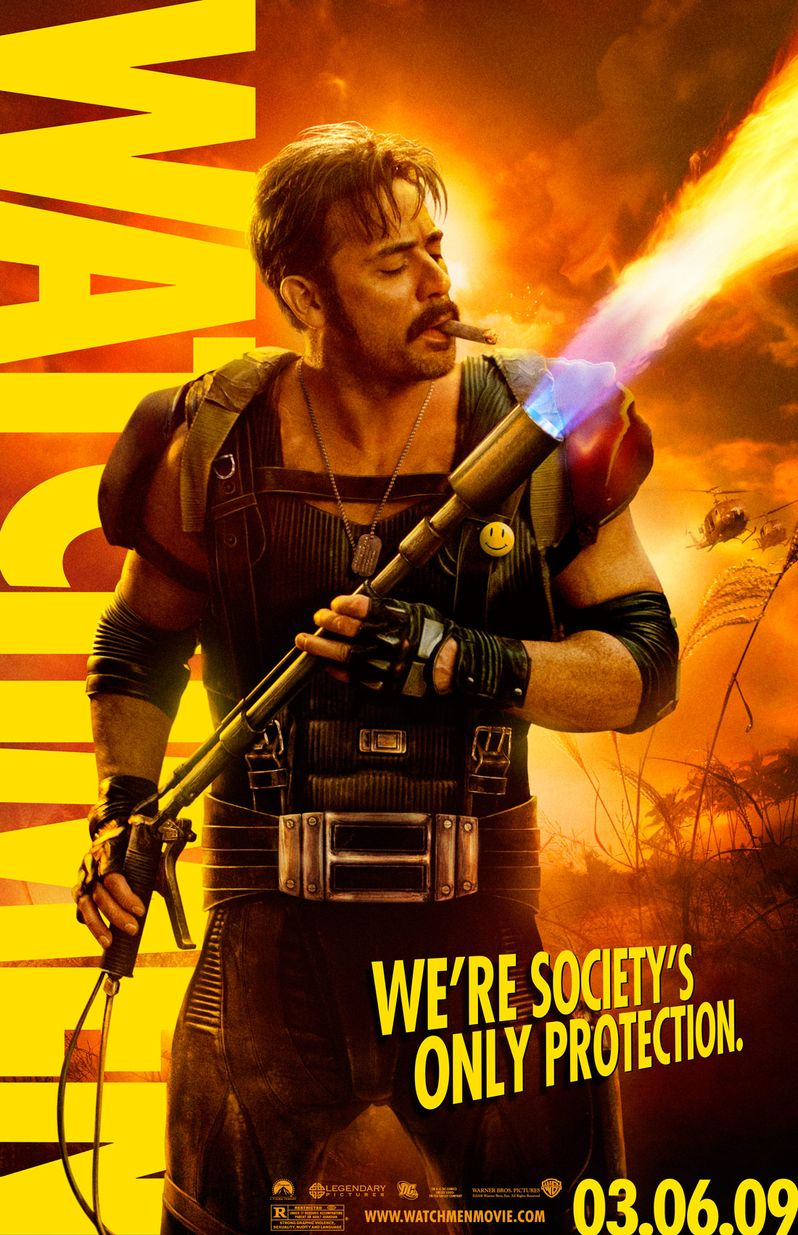 <strong><em>Watchmen</em></strong> Character Poster #1