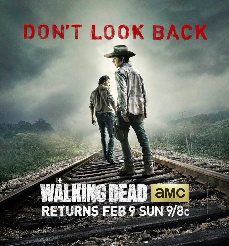 <strong><em>The Walking Dead</em></strong> Season 4 Mid-Season Premiere Poster