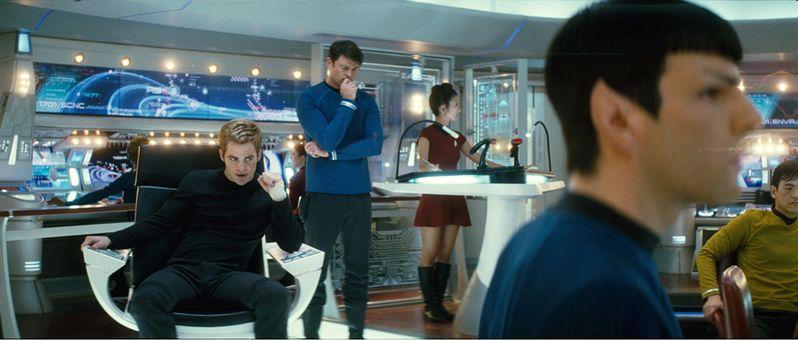 The crew of the Enterprise