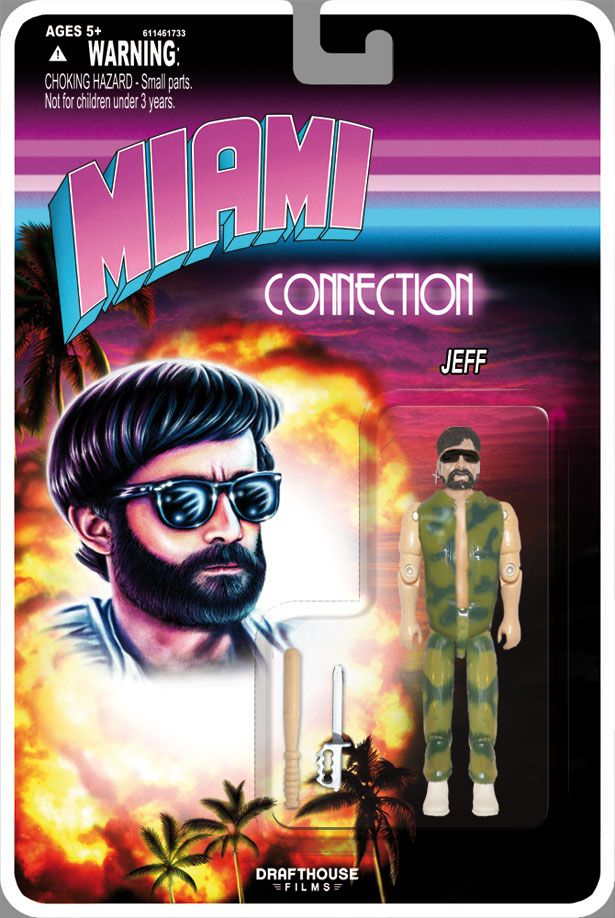 <strong><em>Miami Connection</em></strong> Action Figure Photo #1