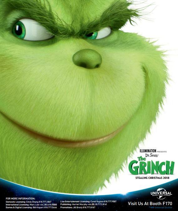<strong><em>The Grinch</em></strong> Promo Art