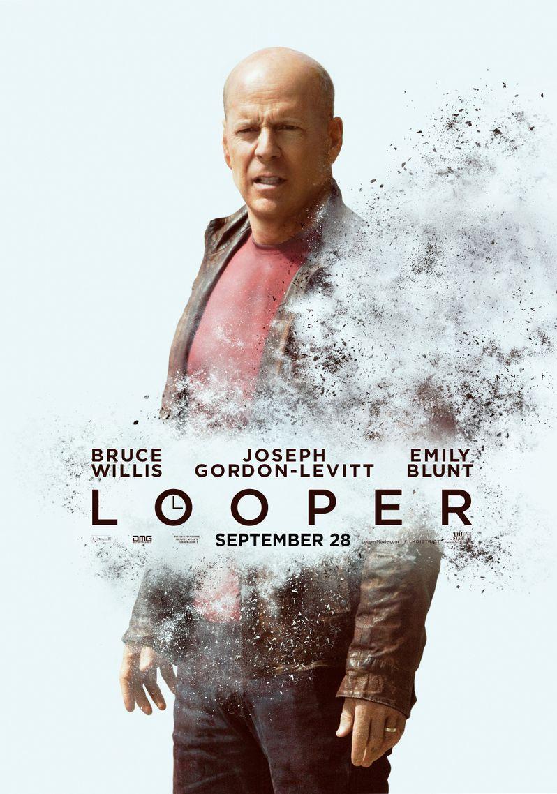 <strong><em>Looper</em></strong> Bruce Willis Character Poster
