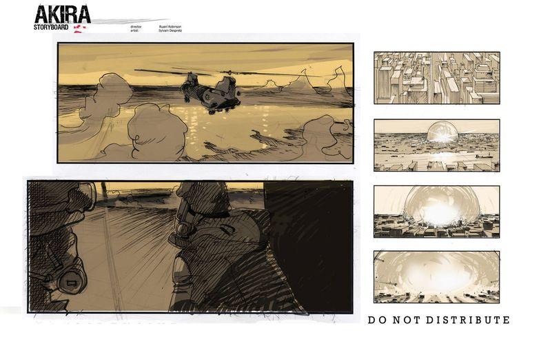 <strong><em>Akira</em></strong> Storyboard #1