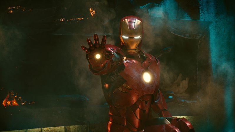 Robert Downey Jr. stars as Iron Man