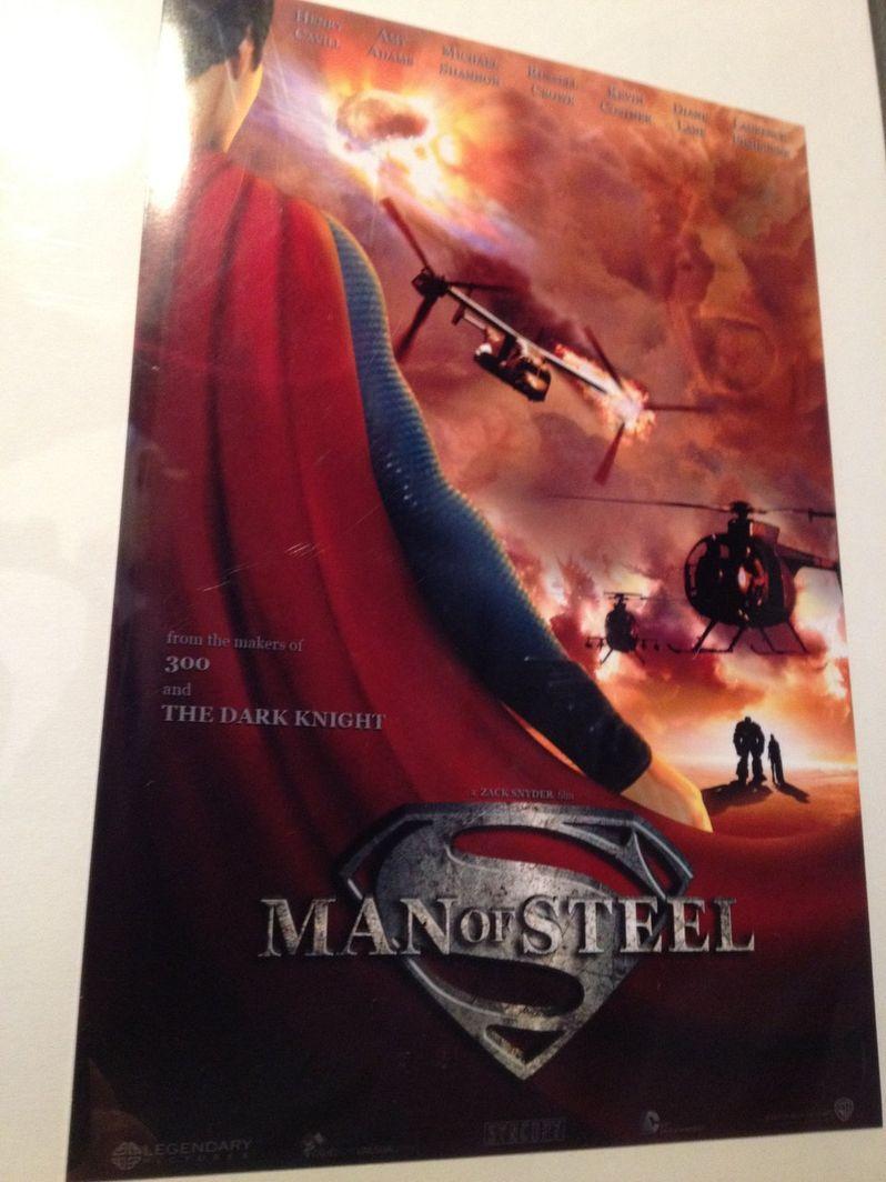 Superman: <strong><em>Man of Steel</em></strong> Poster