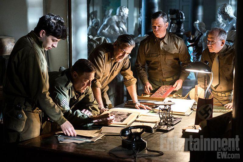 <strong><em>The Monuments Men</em></strong> Photo