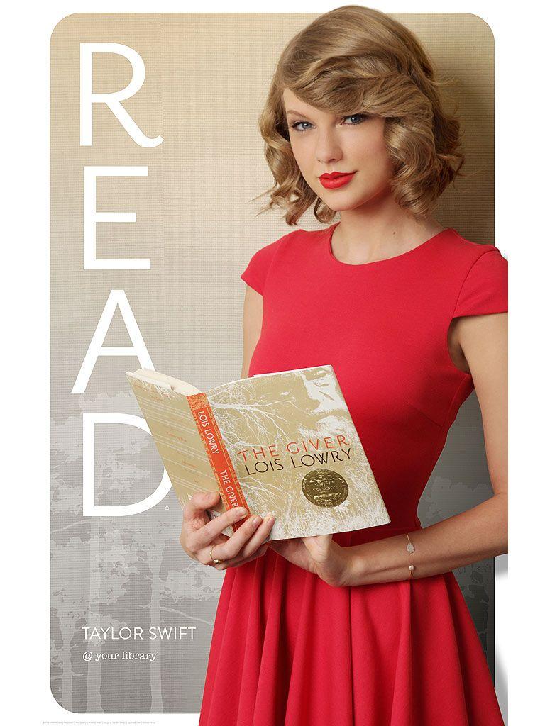 Taylor Swift <strong><em>The Giver</em></strong> Poster