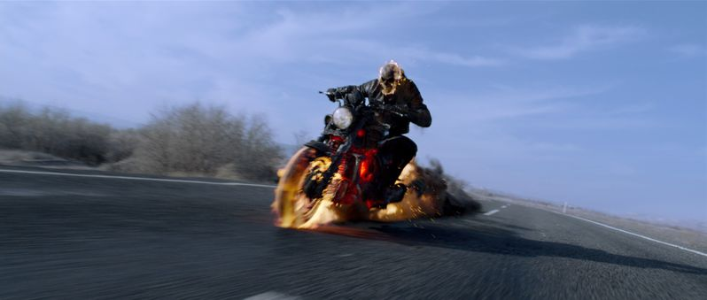 Johnny Blaze / Ghost Rider on the run