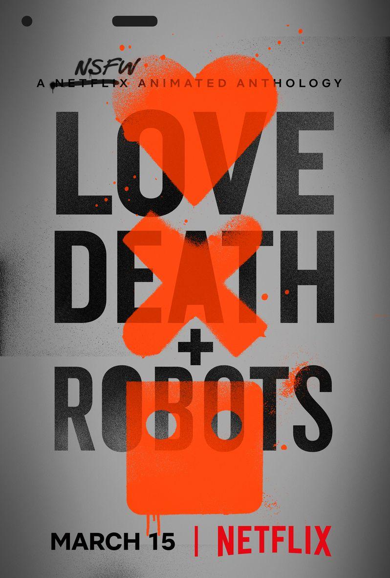 <strong><em>Love, Death & Robots</em></strong> poster