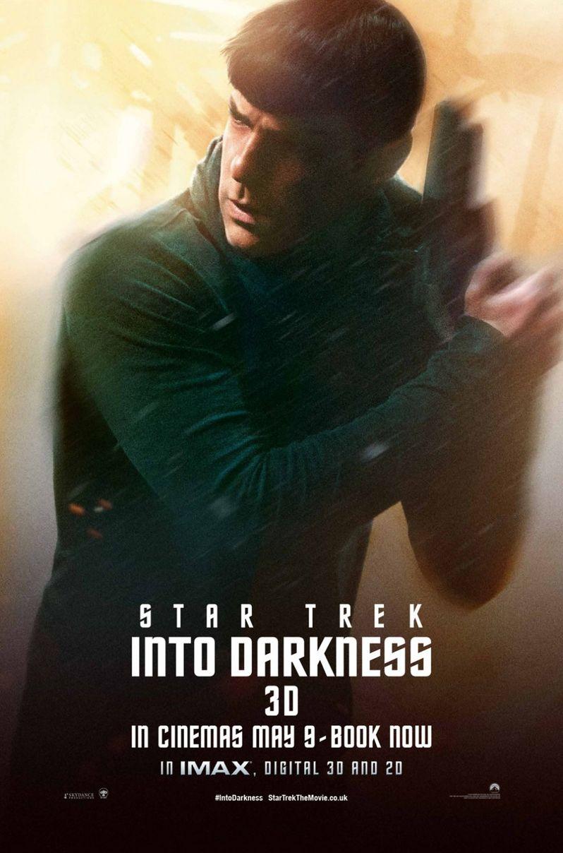 <strong><em>Star Trek Into Darkness</em></strong> Spock Poster