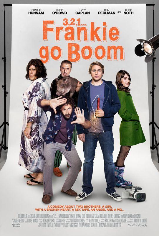 3, 2, 1...Frankie Go Boom Poster
