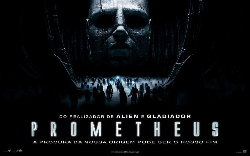 <strong><em>Prometheus</em></strong> International Poster #2