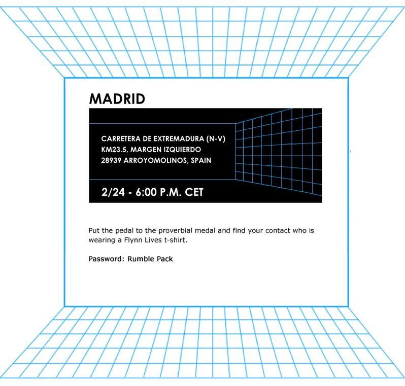 Madrid Clue