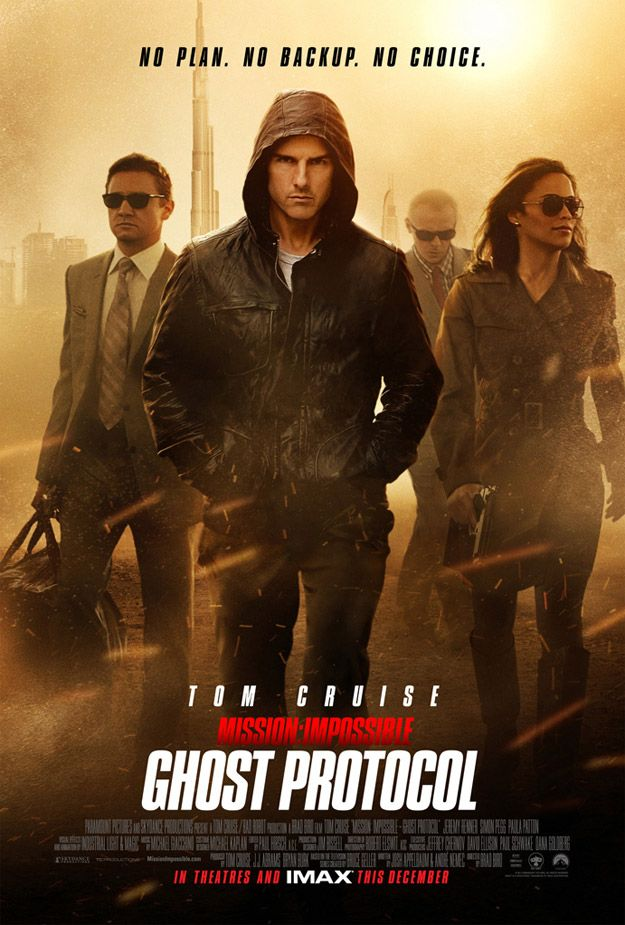<strong><em>Mission: Impossible Ghost Protocol</em></strong> Poster #4