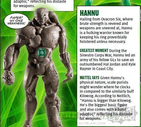 <strong><em>Green Lantern</em></strong> Hannu Action Figure