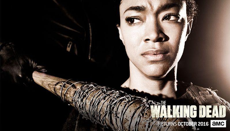 <strong><em>The Walking Dead</em></strong> Season 7 Sasha Poster