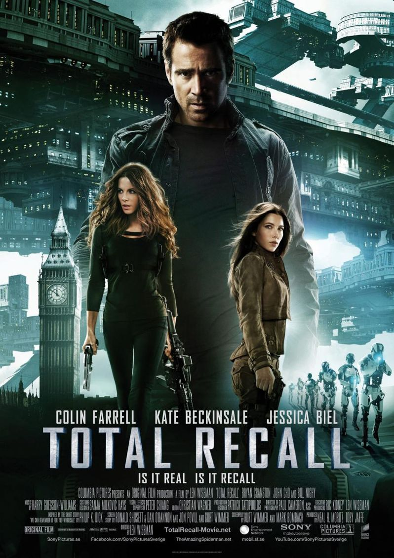 <strong><em>Total Recall</em></strong> International Poster