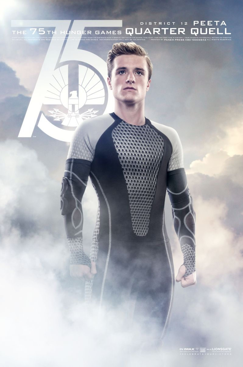 The Hunger Games Catching Fire Peeta Mellark Poster