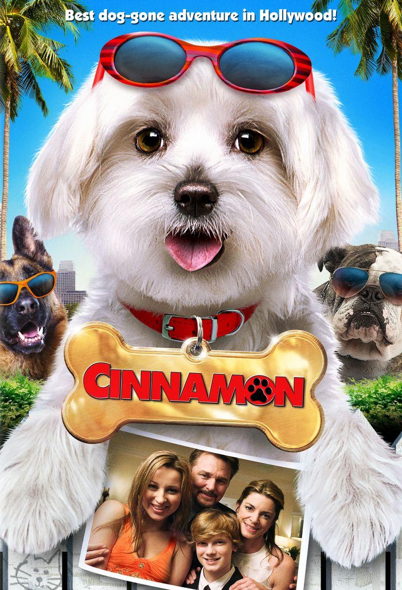 Cinnamon DVD Poster