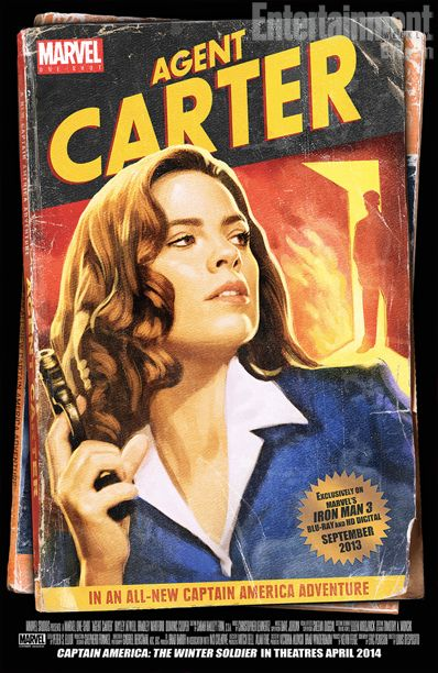 Agent Carter Promo Art