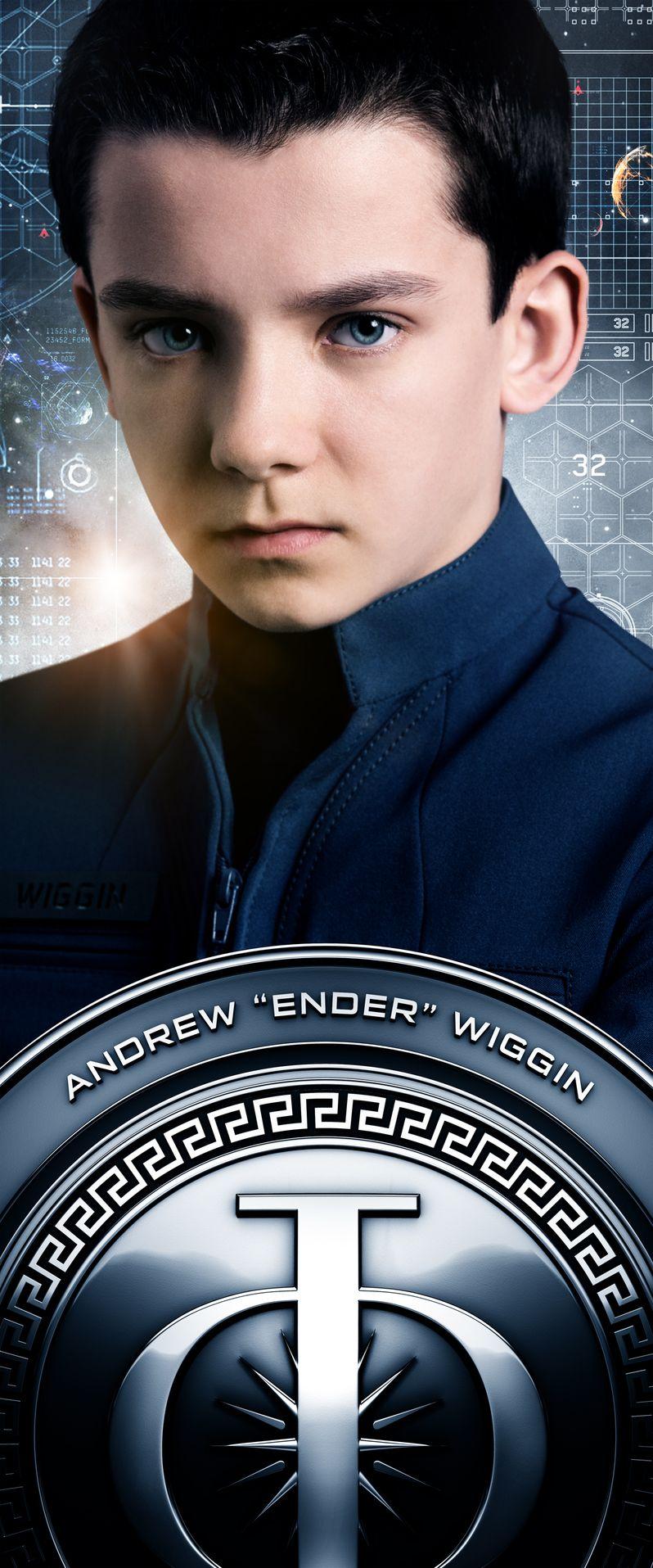 <strong><em>Ender's Game</em></strong> Asa Butterfield Character Poster