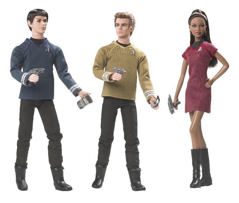 <strong><em>Star Trek</em></strong> Barbie Dolls from Matte