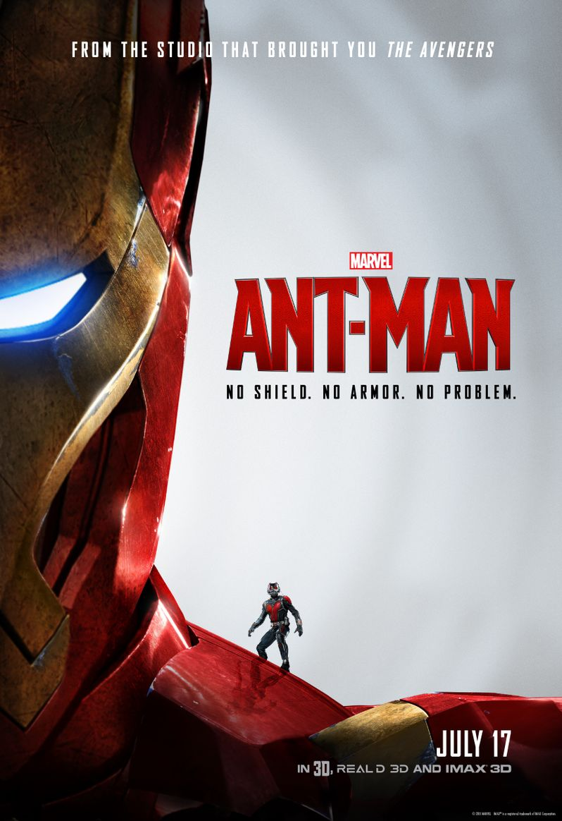 <strong><em>Ant-Man</em></strong> Iron Man Poster