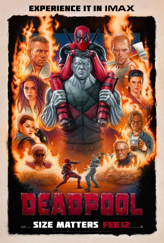 <strong><em>Deadpool</em></strong> Imax Poster