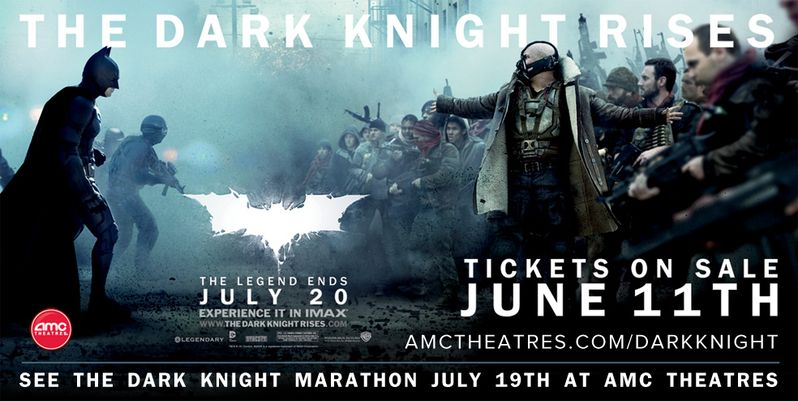 The Dark Knight Marathon Banner