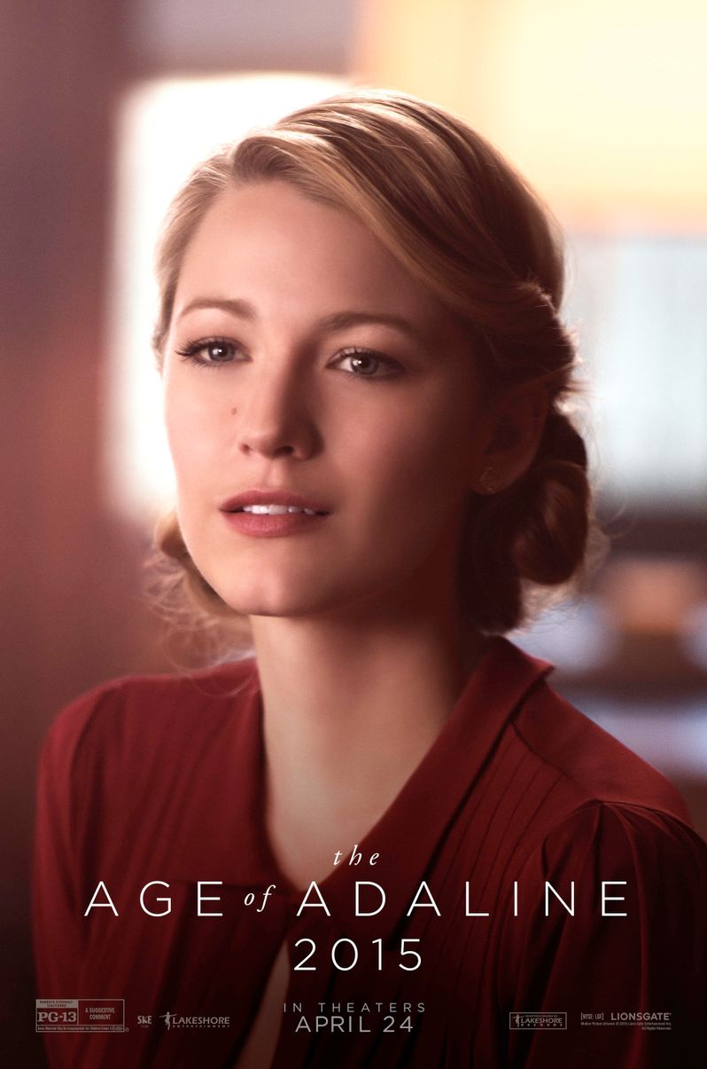 <strong><em>The Age of Adaline</em></strong> 2015 Poster