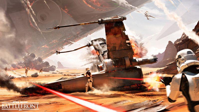 Star Wars Battlefront Concept Art 2