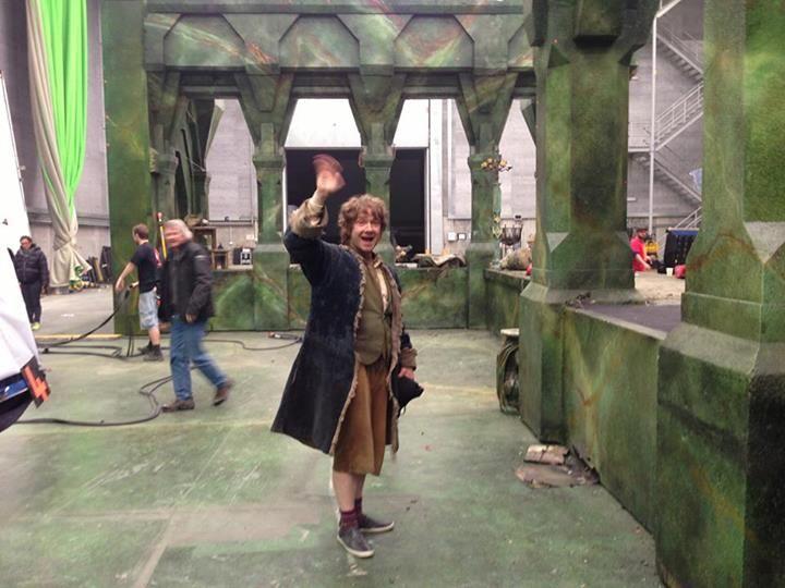 The Hobbit Martin Freeman Wraps Shooting Photo 1