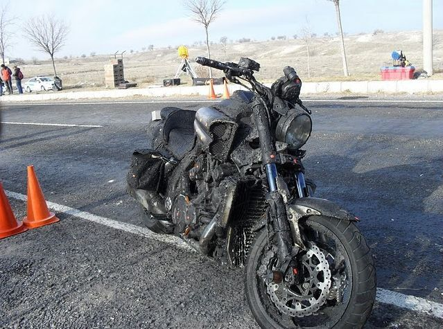 Ghost Rider: Spirit of Vengeance Set Photo #1