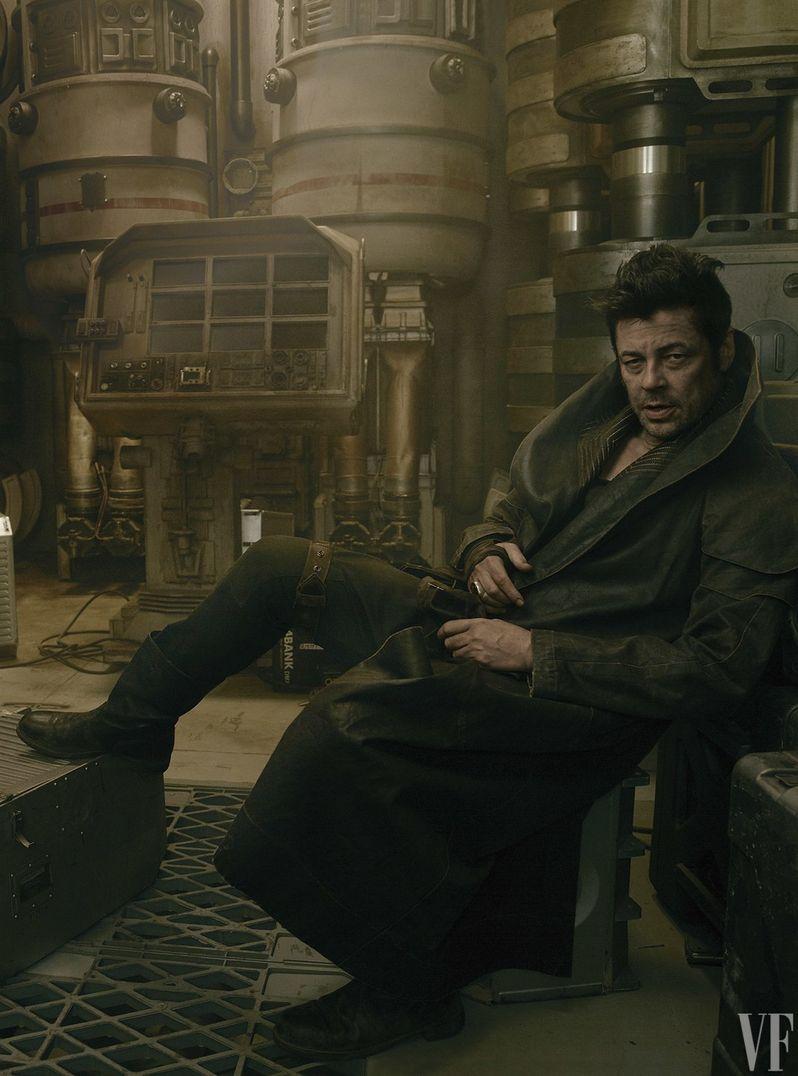 Benecio Del Toro as DJ in Star Wars 8