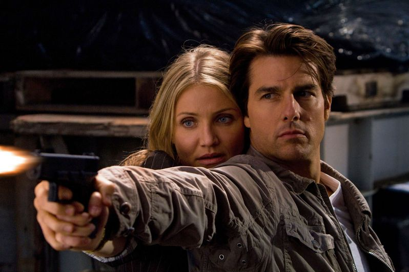 Tom Cruise and Cameron Diaz in <strong><em>Knight and Day</em></strong>