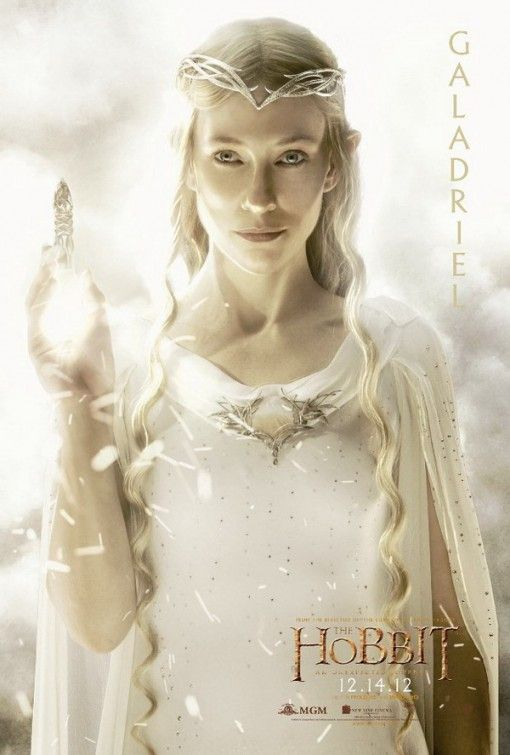 The Hobbit Galadriel Poster