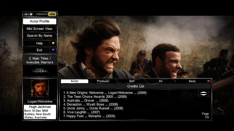 X-Men Origins: Wolverine Live Look Up