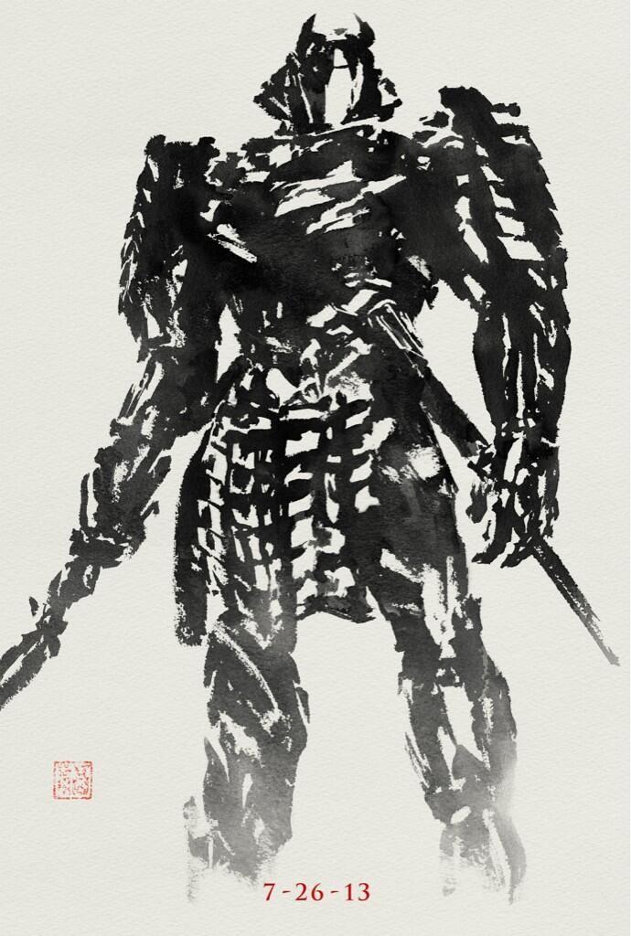 <strong><em>The Wolverine</em></strong> Silver Samurai poster
