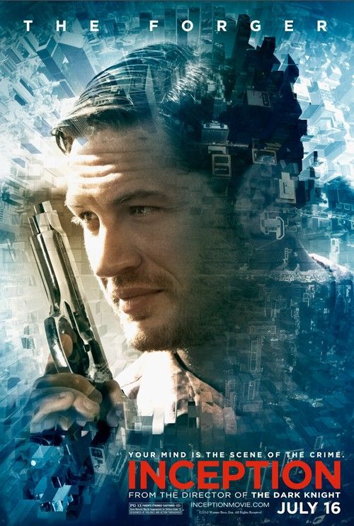 <strong><em>Inception</em></strong> Tom Hardy character poster