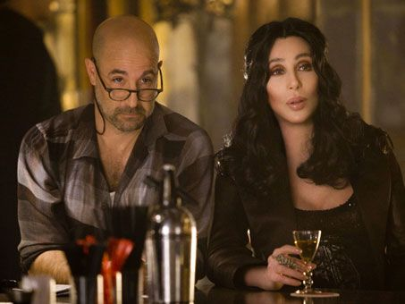 Stanley Tucci and Cher in <strong><em>Burlesque</em></strong>