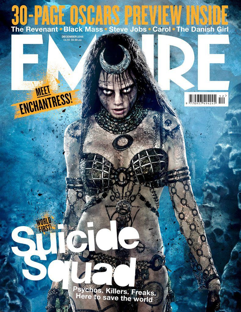 <strong><em>Suicide Squad</em></strong> Enchantress Magazine Cover
