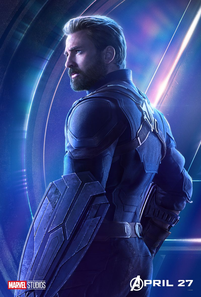 Avengers Infinity War Character Poster #1