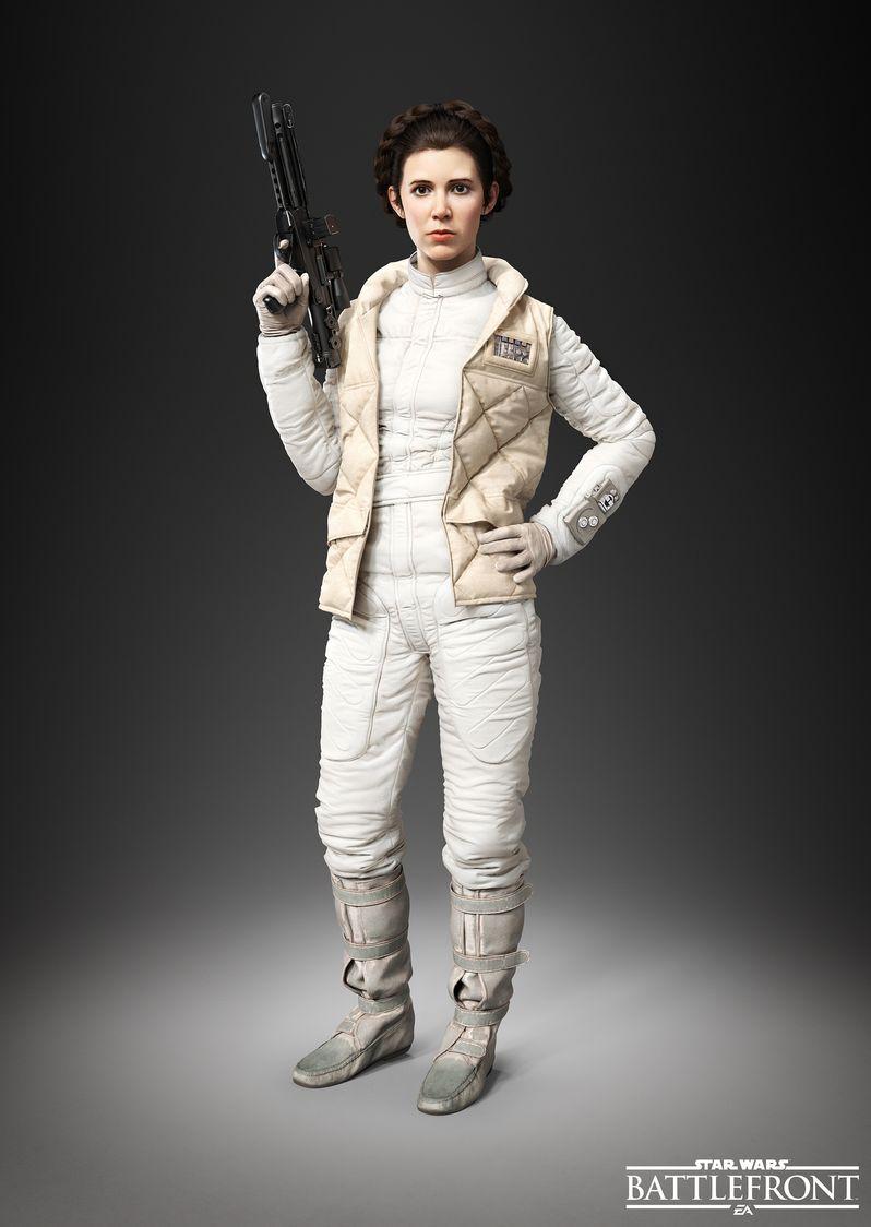 Star Wars Battlefront Princess Leia Photo