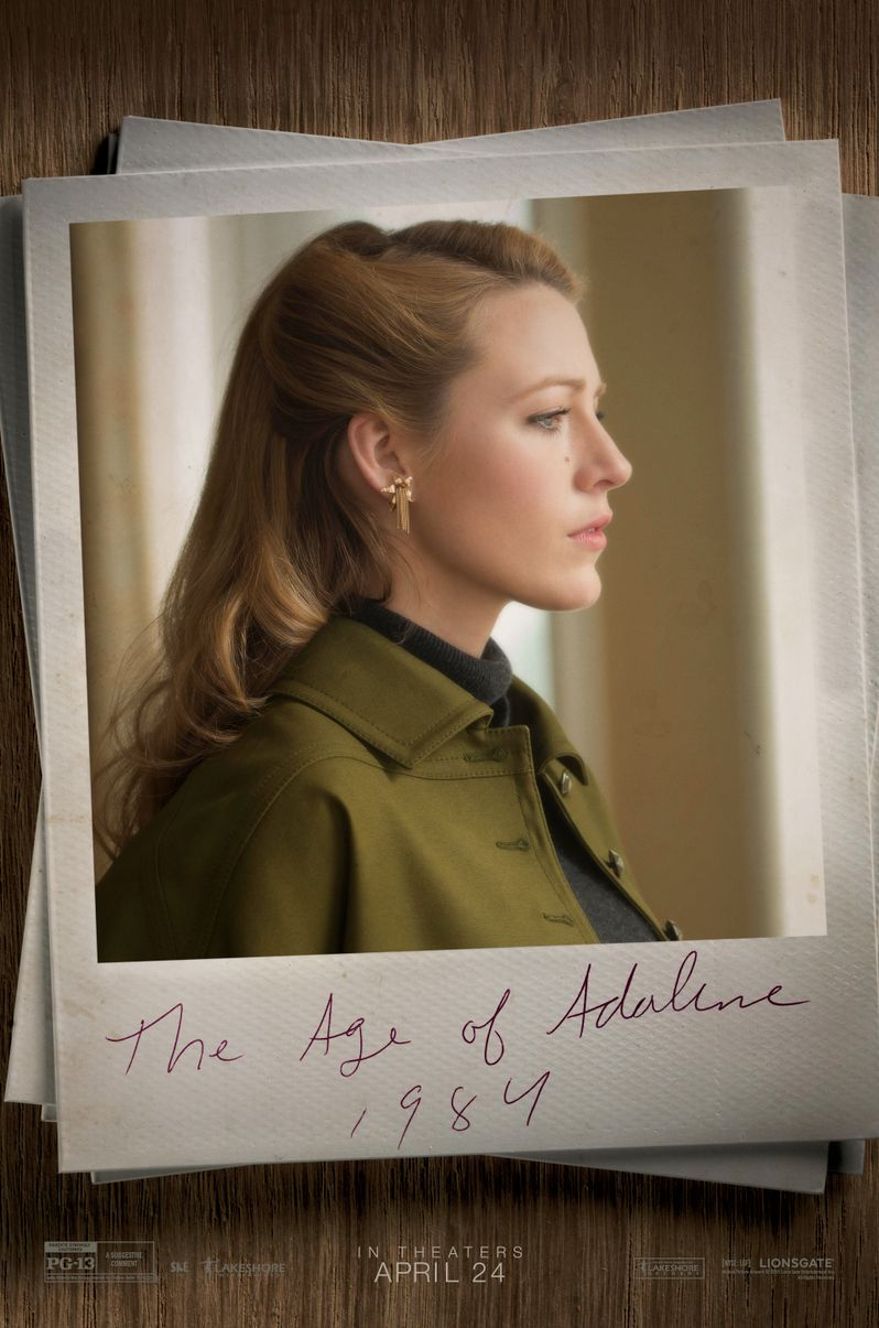 <strong><em>The Age of Adaline</em></strong> 1987 Poster