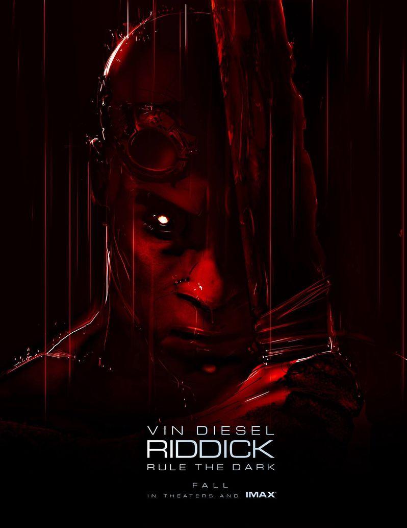 <strong><em>Riddick</em></strong> Comic-Con 2013 poster