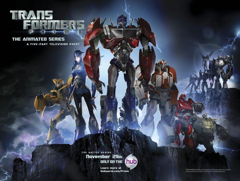 <strong><em>Transformers: Prime</em></strong> Poster