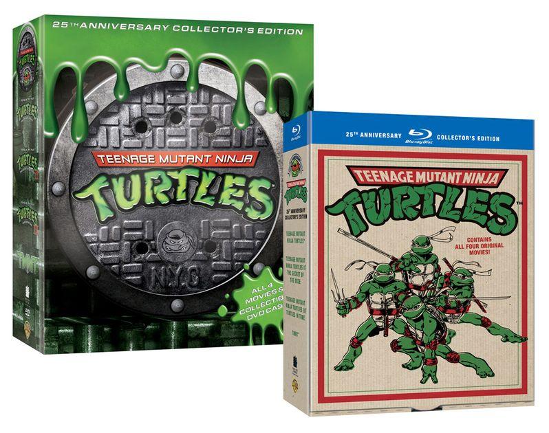 Teenage Mutant Ninja Turtles Film Collection